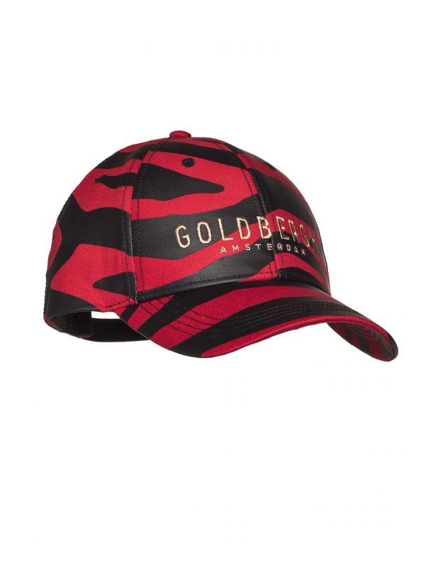 Бейсболка Goldbergh Kim Tiger red GB080-12-211