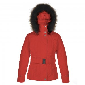 Куртка для девочки Poivre Blanc Cherry red W16-1000-JRGL