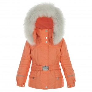 Куртка для девочки Poivre Blanc Sugar orange W16-1000-BBGL