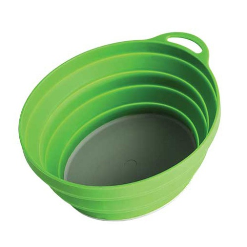 Купить Тарелка Silicone Ellipse Bowl Lifeventure Green 75520