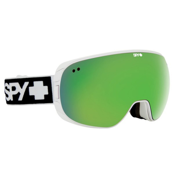Очки горнолыжные Spy Doom White Bronze/Green Spectra+Yellow Contact