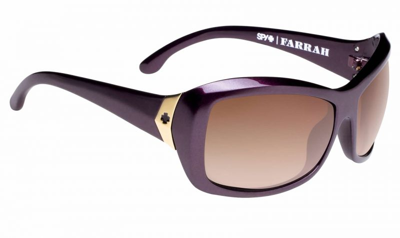 Купить Очки Spy Farrah Deep Purple Happy Bronze Fade
