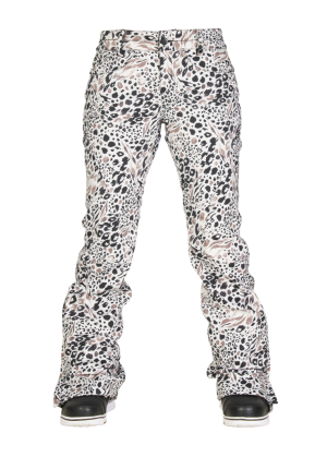 Брюки женские 686 Authentic Gossip Grey Animal Print L5W405C