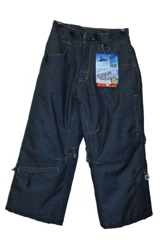 Брюки детские Liquid Boardwear Leader Black denim B32106