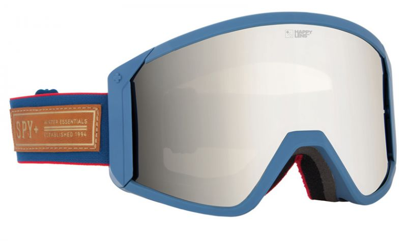 Очки горнолыжные Spy Raider Heritage Navy Happy Bronze/Silver Mirror+Blue R16