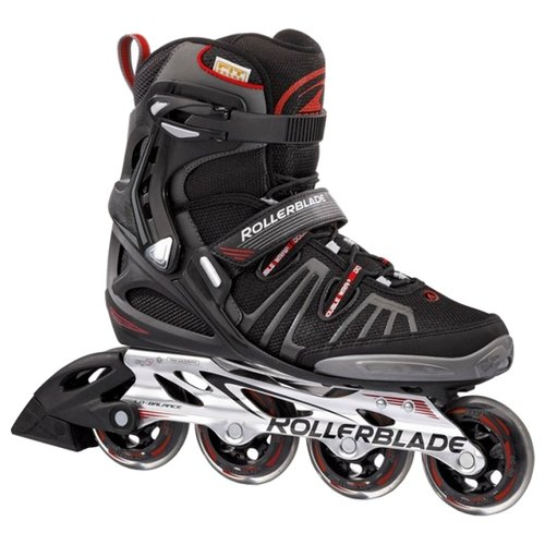 Купить Ролики Rollerblade Spark 80 Alu Black/red 07204000 741