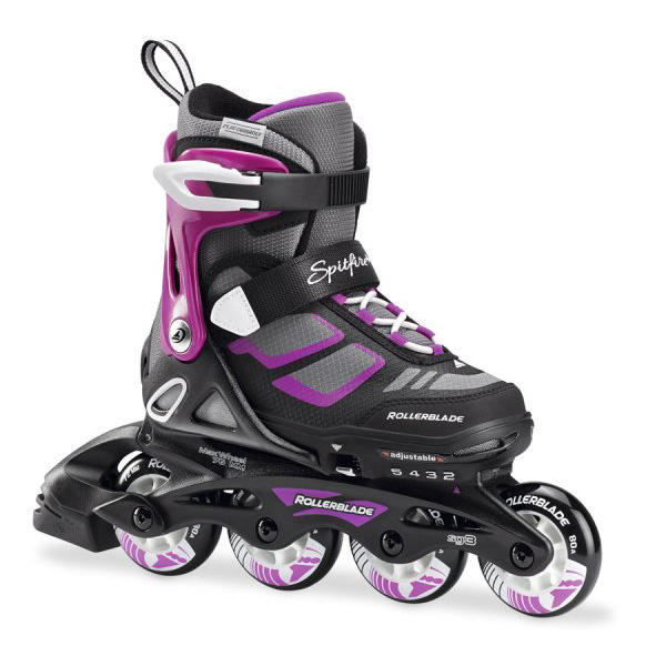 Ролики Rollerblade Spitfire G Black/purple 07743700 774