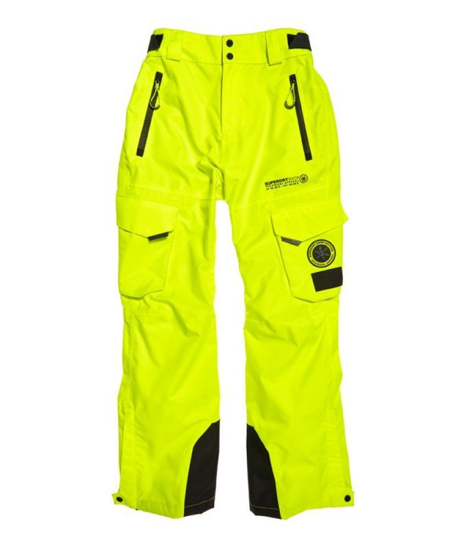 Брюки мужские Superdry Snow Yellow MS1013SR