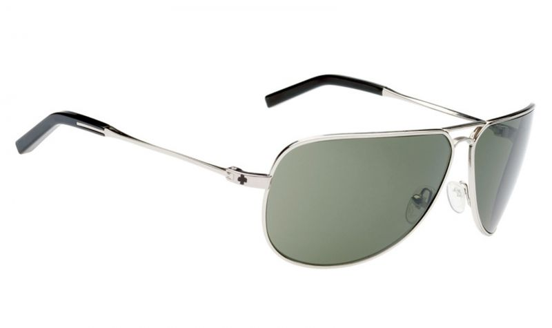 Купить Очки Spy Wilshire Silver Shiny Grey Green Polarized